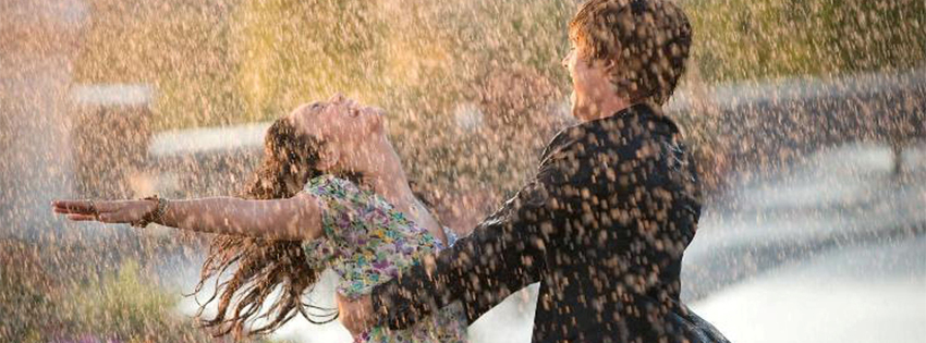 couple, danser sous la pluie, high school musical, zac efron, vanessa hudgens, couverture facebook, facebook cover