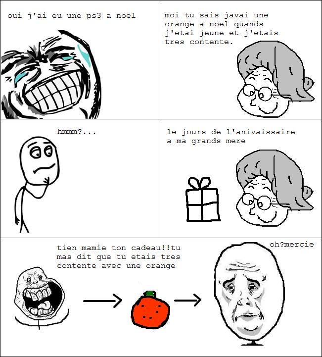 comic bd meme troll grand mere mamie cadeau noel ps3 orange Image ...