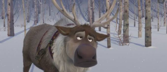 sven, la reine des neiges, disney, frozen