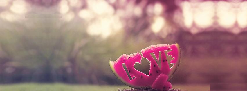 pasteque love tumblr watermelon heart couverture facebook ...