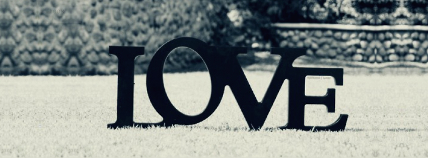couverture, facebook, cover, love, amour, neige, snow, herbe, grass