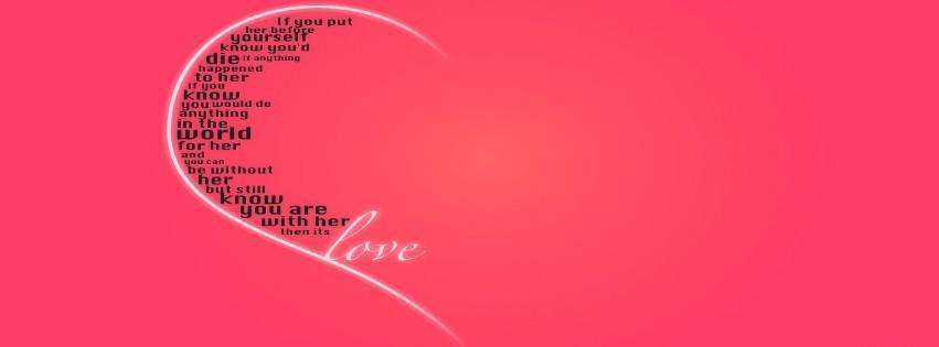 coeur, love, amour, heart, couverture facebook, facebook cover
